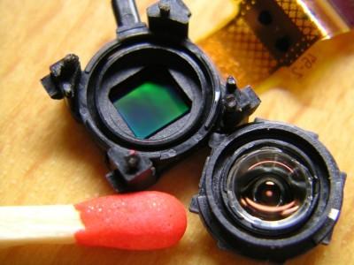 ケータイカメラとマッチ棒